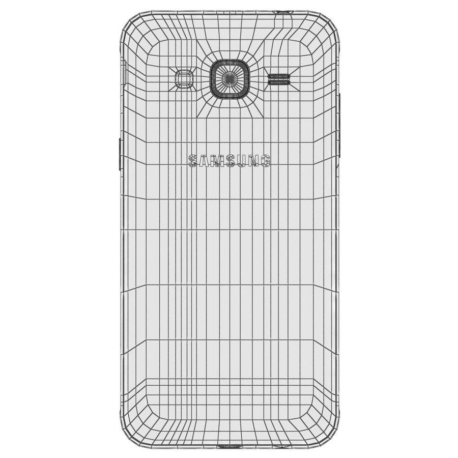 三星Galaxy J3 Gold royalty-free 3d model - Preview no. 23