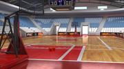Basketball Arena 3d model