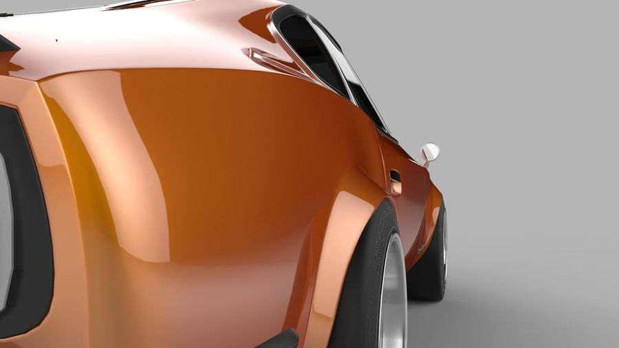 Datsun Fairlady 240z royalty-free 3d model - Preview no. 4