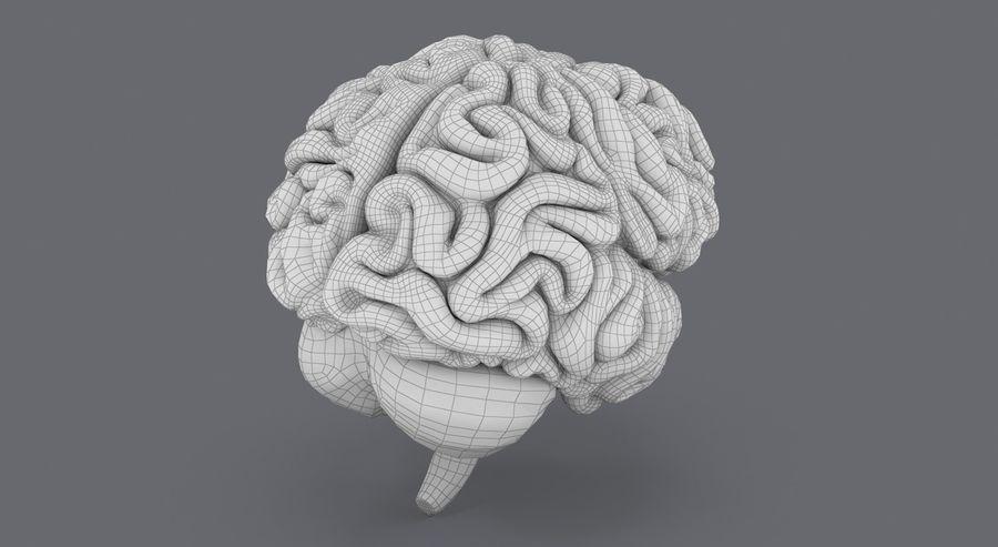Mänsklig hjärna royalty-free 3d model - Preview no. 20