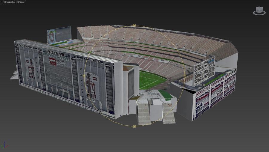 리바이스의 경기장 royalty-free 3d model - Preview no. 20
