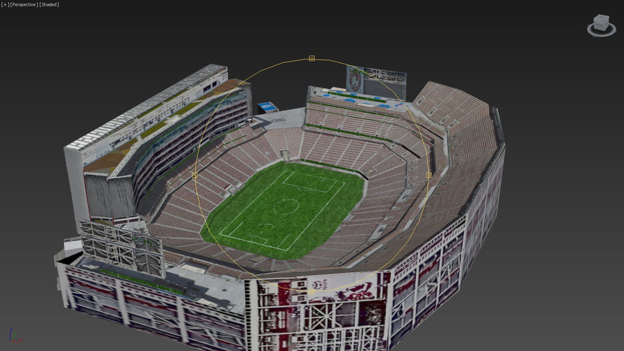리바이스의 경기장 royalty-free 3d model - Preview no. 19