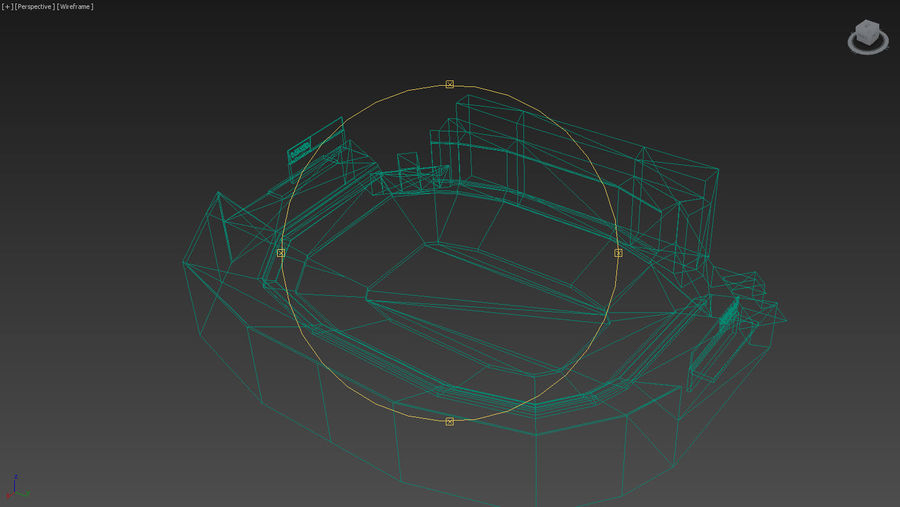 리바이스의 경기장 royalty-free 3d model - Preview no. 17