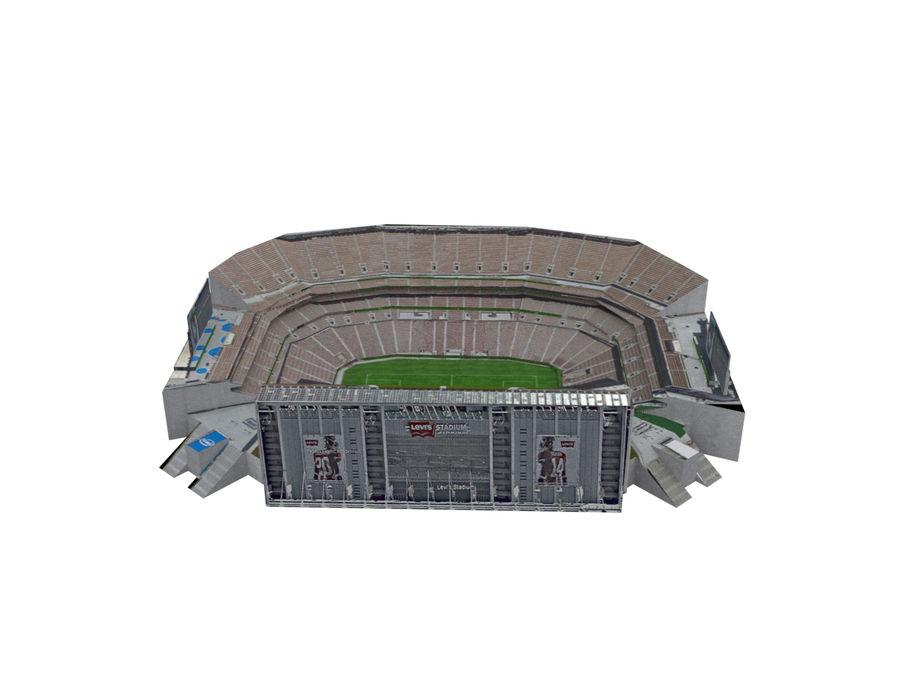 리바이스의 경기장 royalty-free 3d model - Preview no. 11