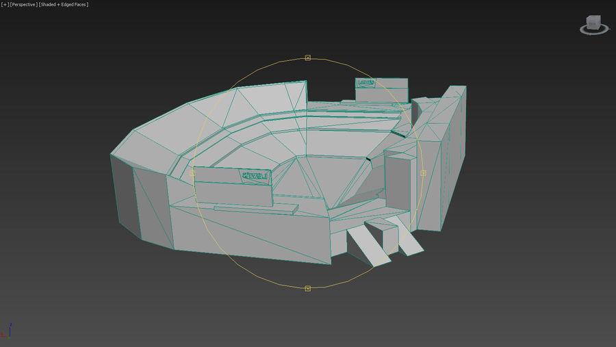 리바이스의 경기장 royalty-free 3d model - Preview no. 16