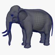 大象基地网与紫外线 3d model