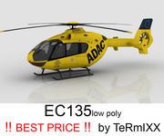 EC 135 ADAC 3d model