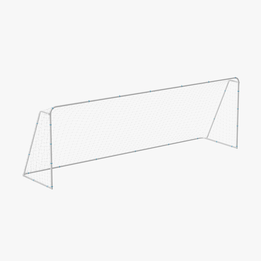 Soccer Goal royalty-free 3d model - Preview no. 1