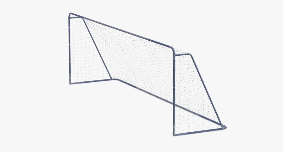 Soccer Goal royalty-free 3d model - Preview no. 10