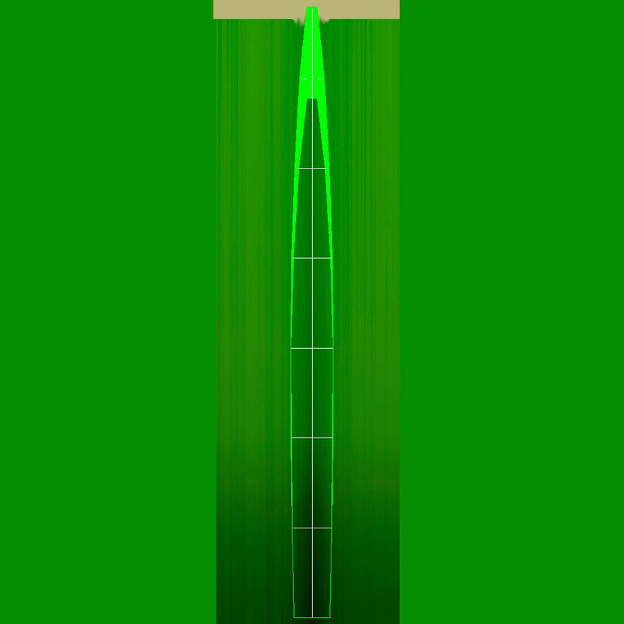 Zoysia Grass royalty-free 3d model - Preview no. 16