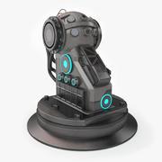 Turret Base Sci-Fi 3d model
