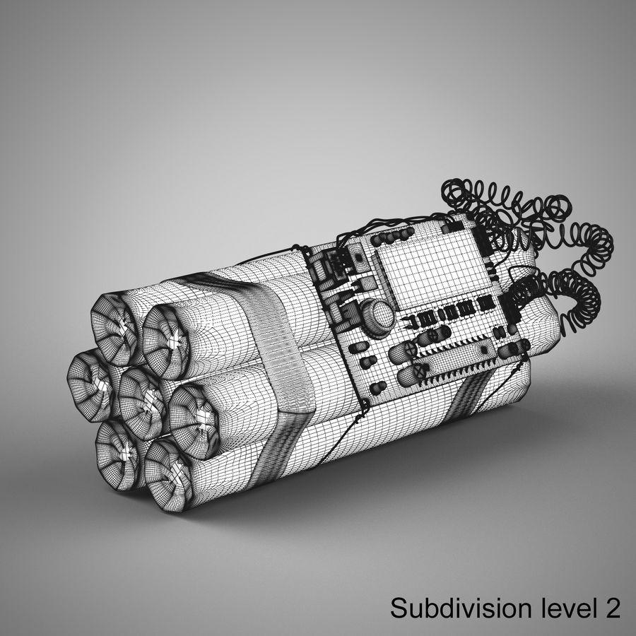 炸药炸弹 royalty-free 3d model - Preview no. 14