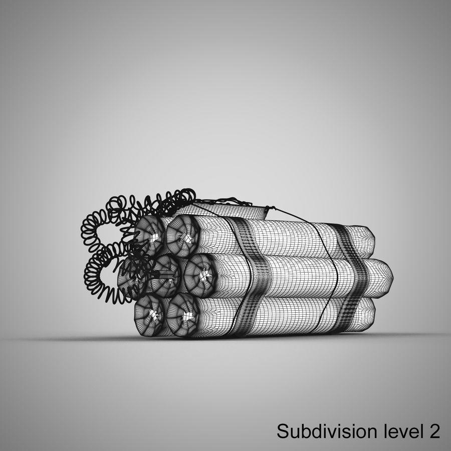 炸药炸弹 royalty-free 3d model - Preview no. 15
