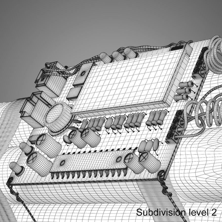 炸药炸弹 royalty-free 3d model - Preview no. 16