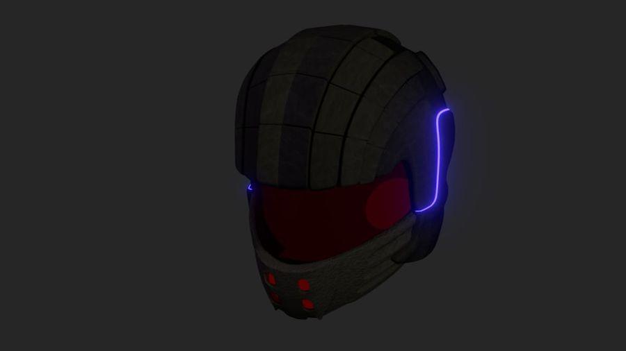 Sci-Fi Helmet royalty-free 3d model - Preview no. 1