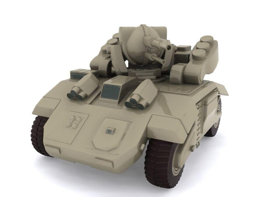 Mega Panzer royalty-free 3d model - Preview no. 1