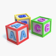 Toy Blocks 3d model