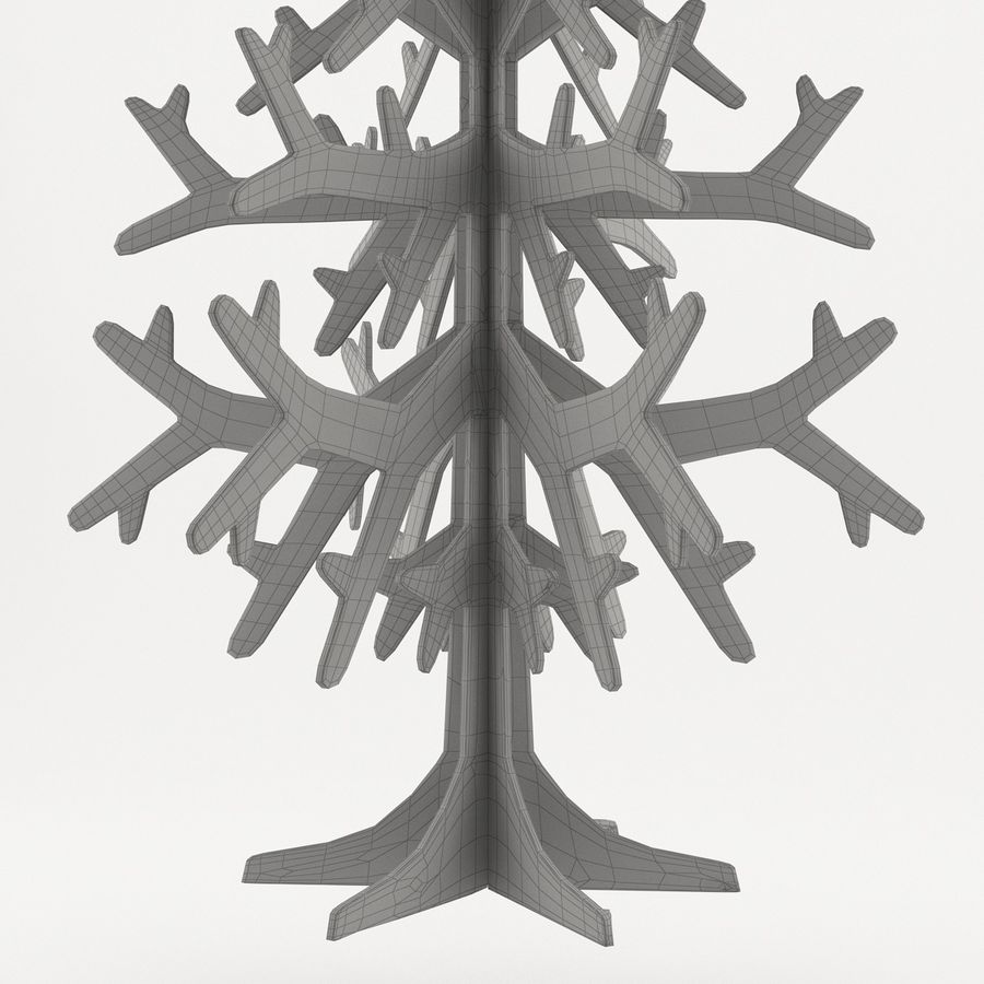 Árvore de Natal royalty-free 3d model - Preview no. 5