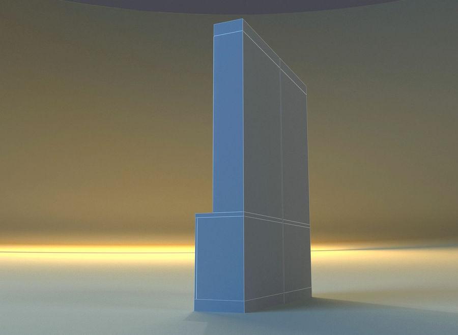 内阁3 royalty-free 3d model - Preview no. 11