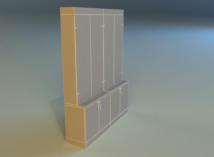 内阁3 royalty-free 3d model - Preview no. 14