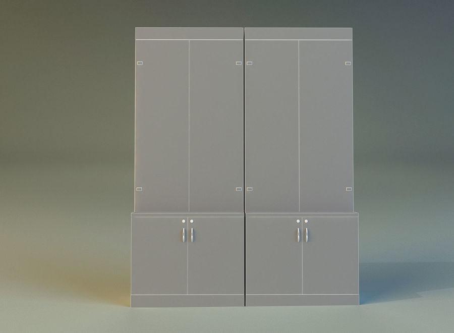 内阁3 royalty-free 3d model - Preview no. 16