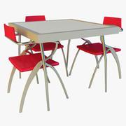 Table 4 3d model