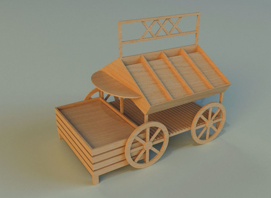 무역 파빌리온 9 royalty-free 3d model - Preview no. 9
