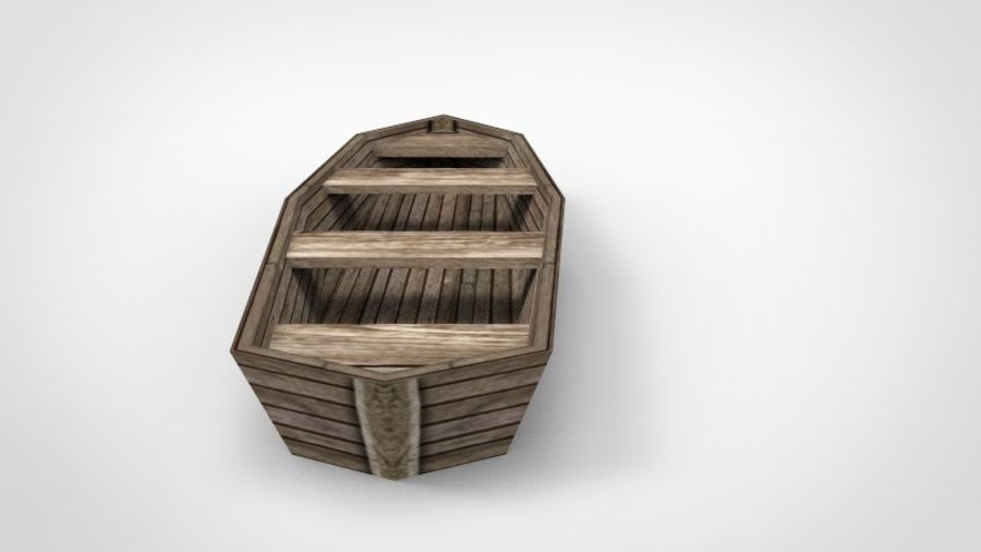 Boot royalty-free 3d model - Preview no. 3