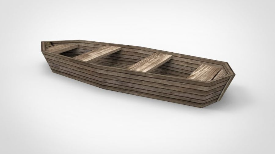 Boot royalty-free 3d model - Preview no. 8