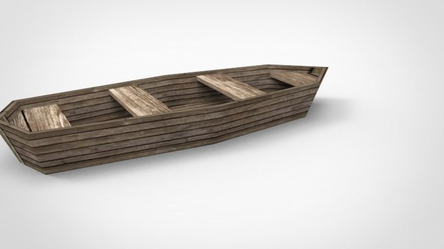 Boot royalty-free 3d model - Preview no. 4