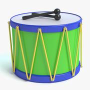 Toy Drum 3d model