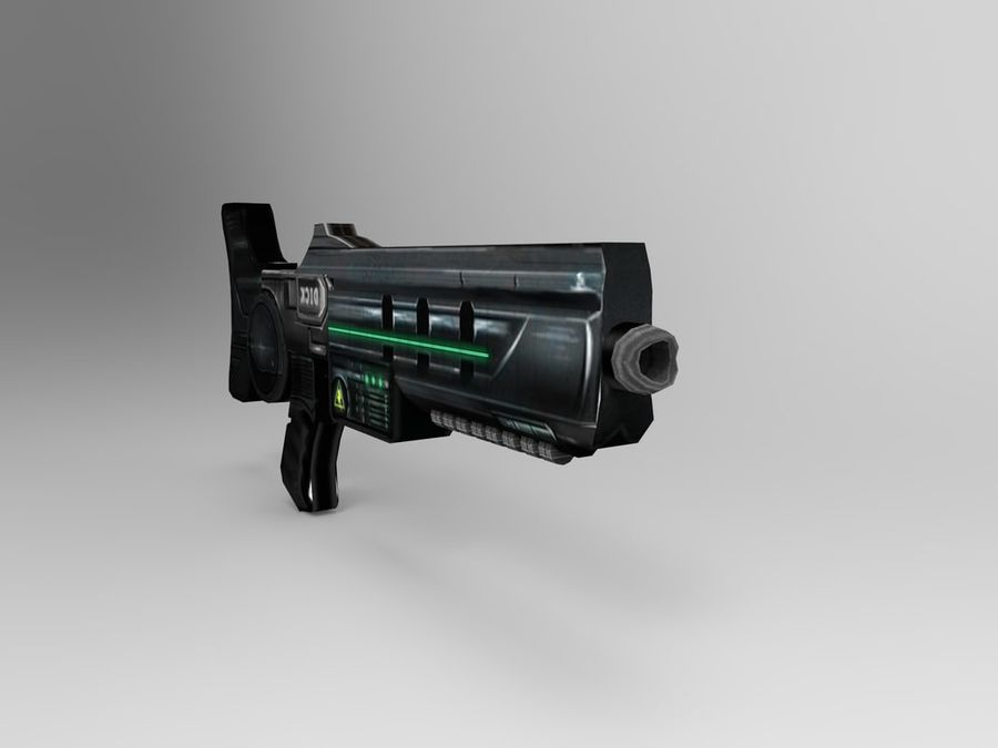 weapon modern royalty-free 3d model - Preview no. 3