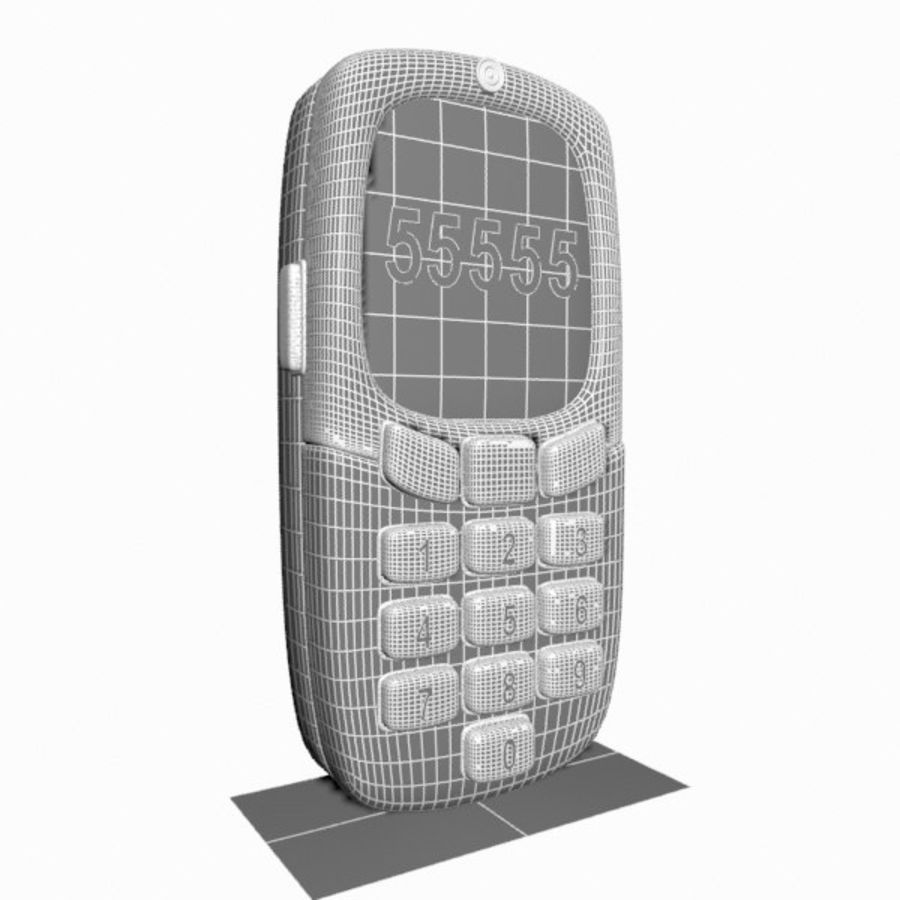 Giocattolo per telefono cellulare royalty-free 3d model - Preview no. 11