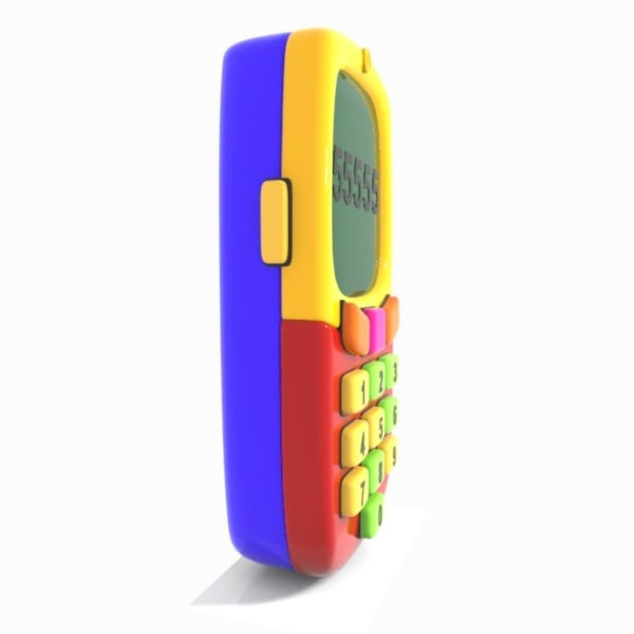 Giocattolo per telefono cellulare royalty-free 3d model - Preview no. 9