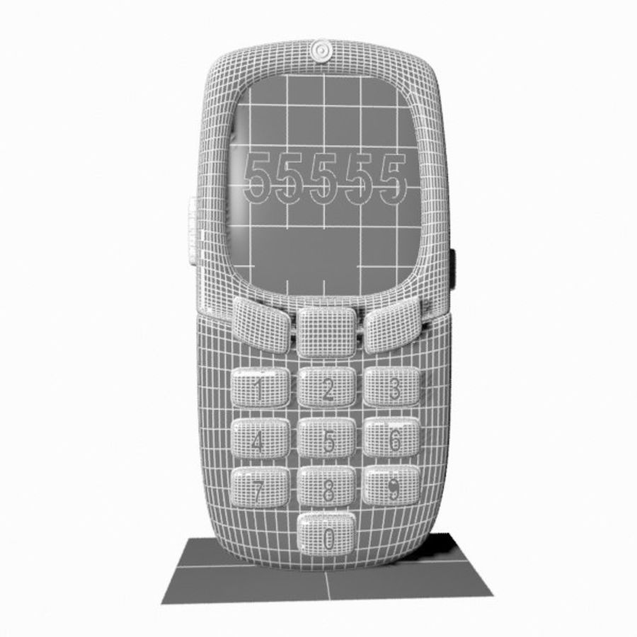 Giocattolo per telefono cellulare royalty-free 3d model - Preview no. 12