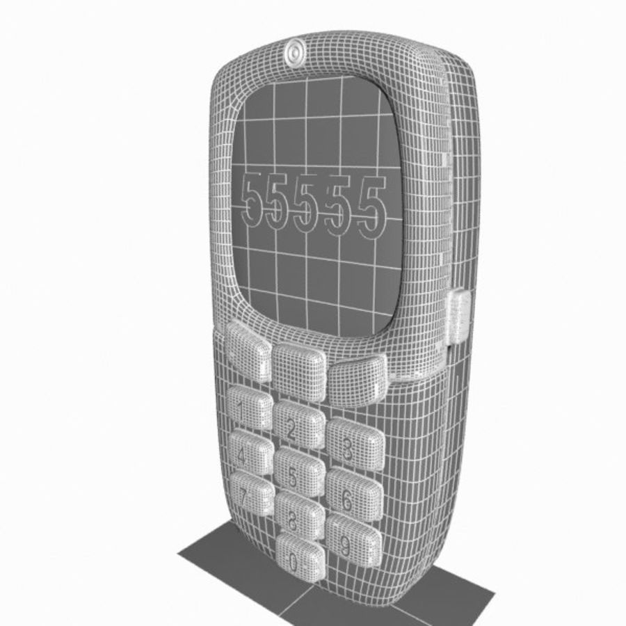 Giocattolo per telefono cellulare royalty-free 3d model - Preview no. 14