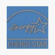 Energy Star Logo 3d model
