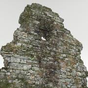 Ruins wall 3d model