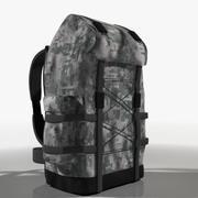 plecak turystyczny 3d model