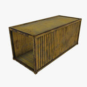 Container_3(低ポリゴン) 3d model