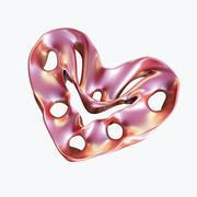Coração do amor 03 3d model