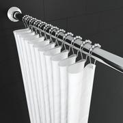 Tenda da doccia 3d model
