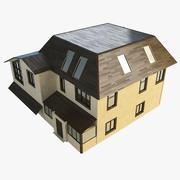 House lowpoly 2 3d model