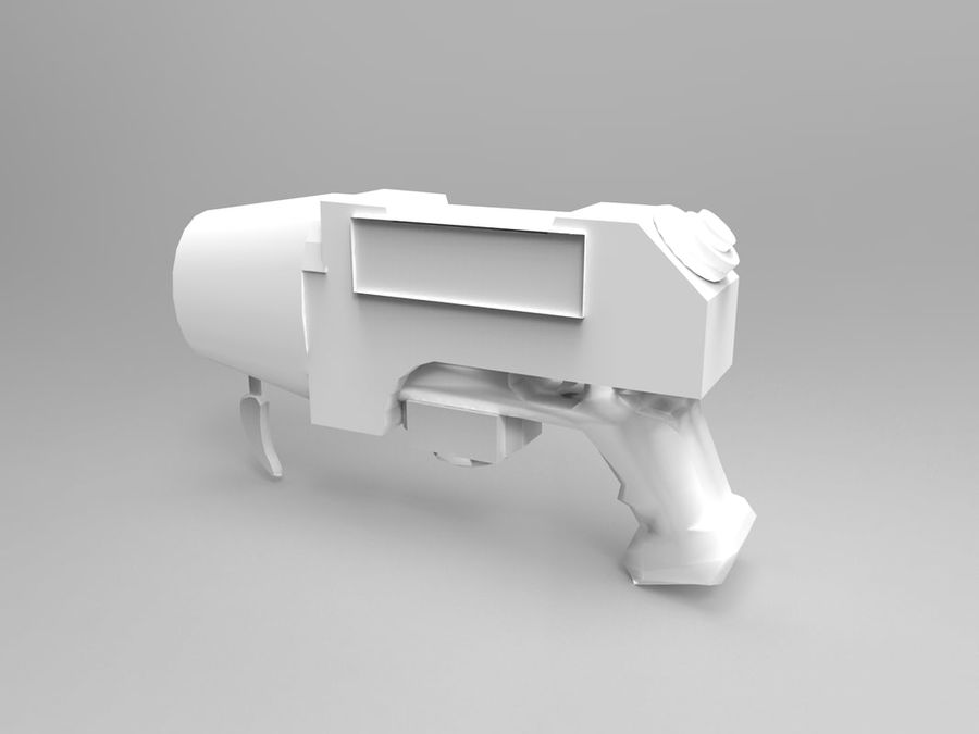 weapon royalty-free 3d model - Preview no. 11