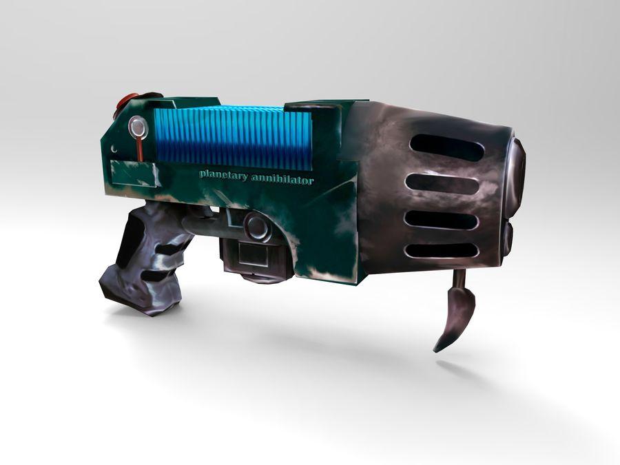 оружие royalty-free 3d model - Preview no. 17