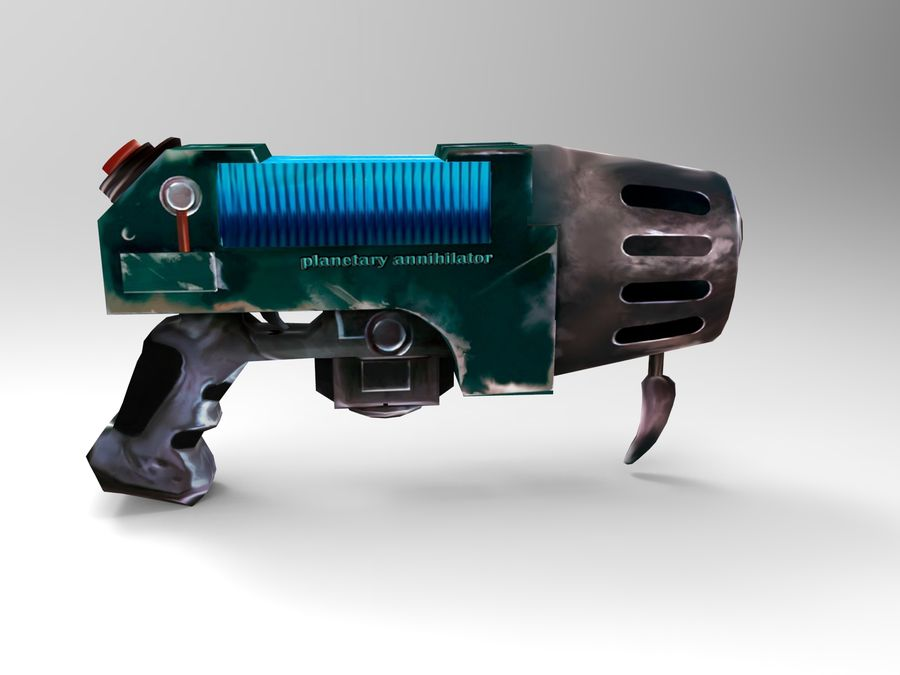 оружие royalty-free 3d model - Preview no. 1