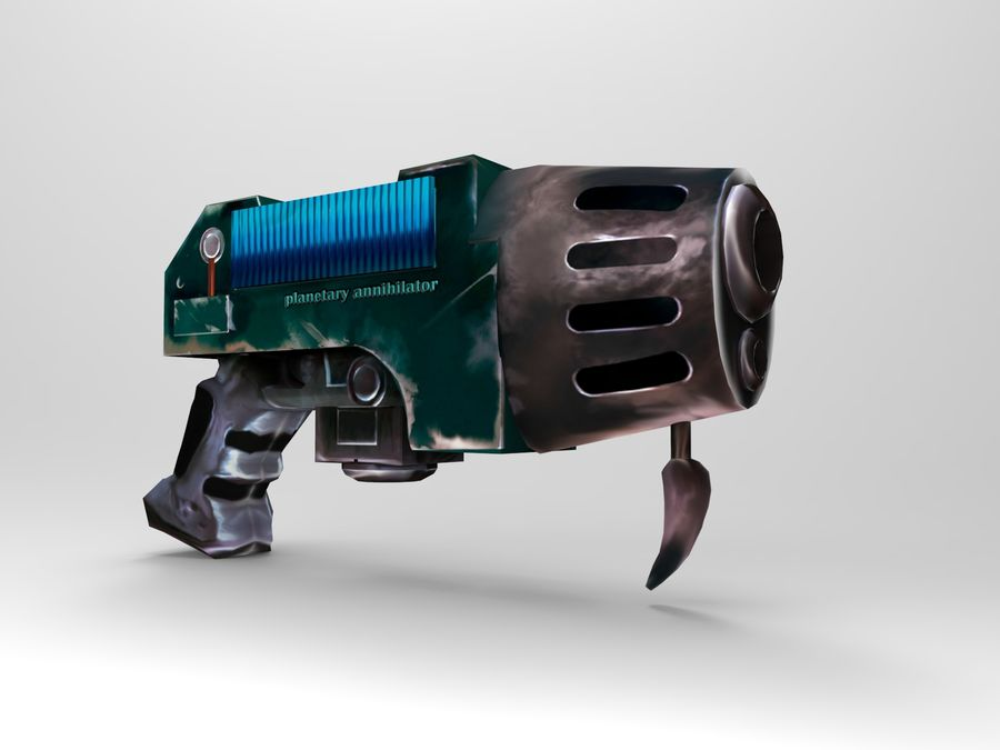 оружие royalty-free 3d model - Preview no. 7