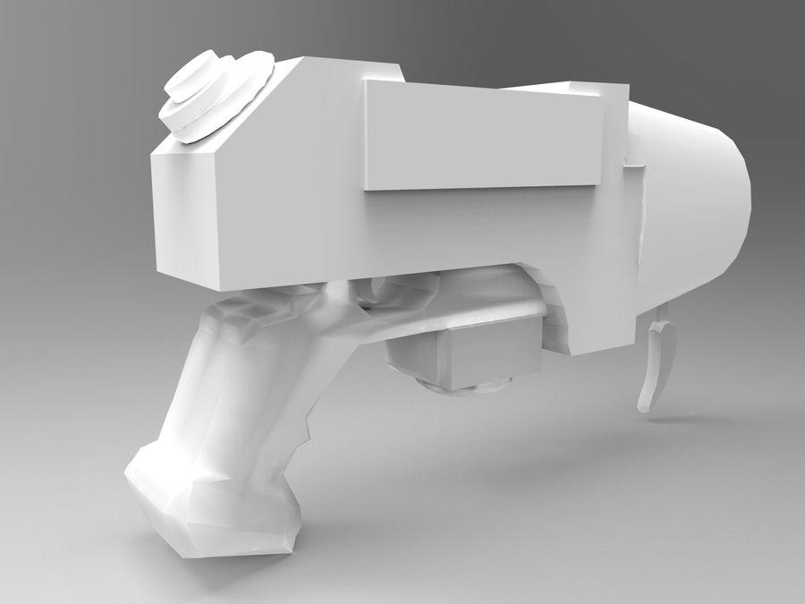 оружие royalty-free 3d model - Preview no. 10