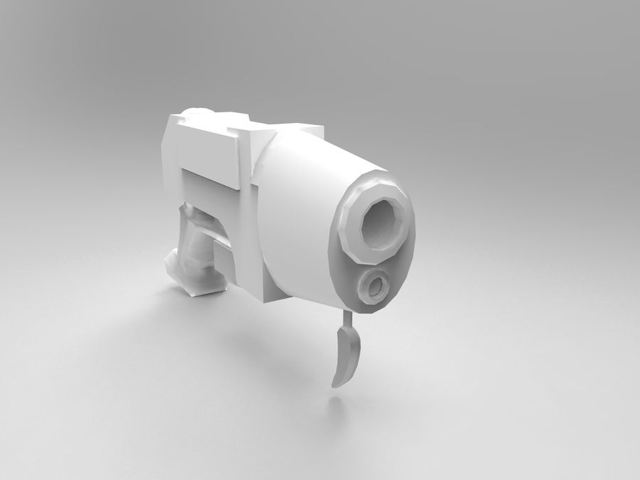 оружие royalty-free 3d model - Preview no. 13