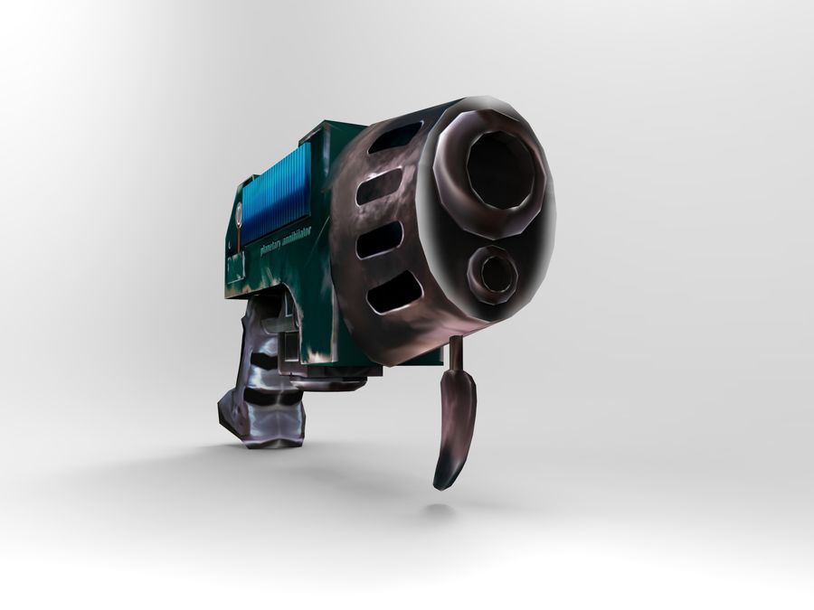 оружие royalty-free 3d model - Preview no. 6